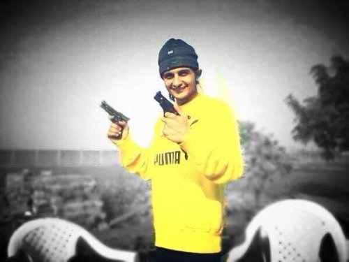 Sukha Kahlon With Guns