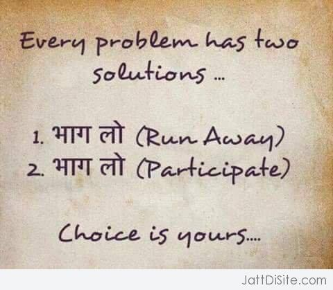 Every Problem Has Two Solutions