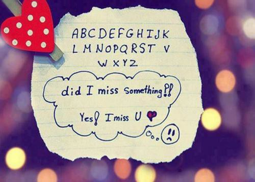 Lovely Miss You Quote