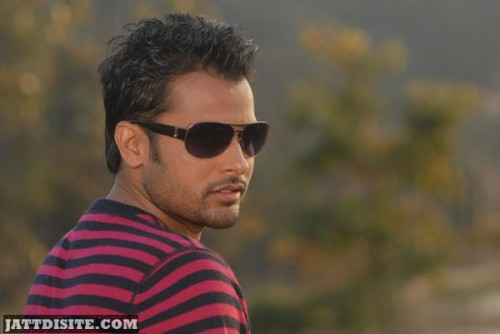 Amrinder Gill Good Looking Pose