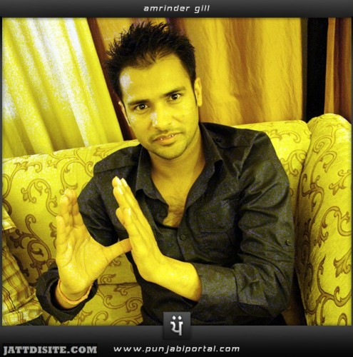 Amrinder Gill In Home