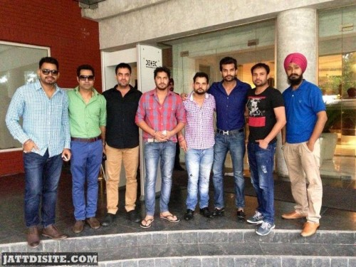 Amrinder Gill With Friends