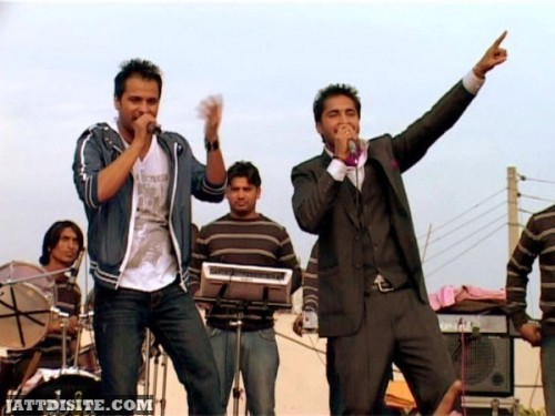 Amrinder Gill With Jassi Gill