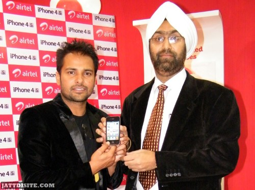 Amrinder SinGh Launched By Mobile