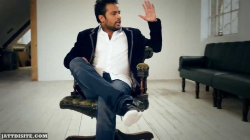 Amrinder Gill In A Song Shoot