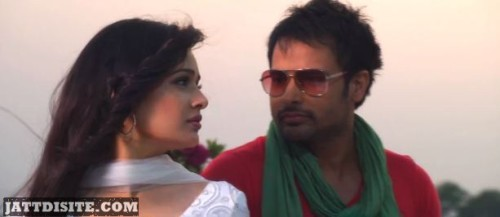 Amrinder Gill At Song Shoot