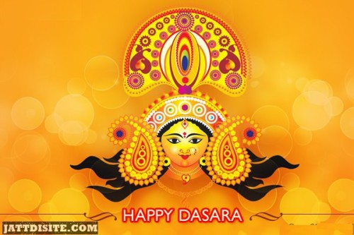 Awesome Picture Of Maa Durga