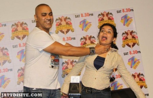 Baba Sehgal In Funny Mood