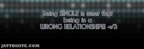 Being Single Is Wiser