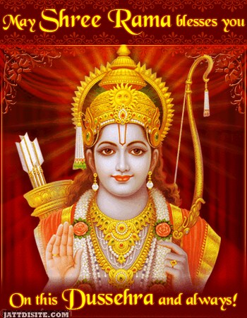 Bless You On This Dussehra