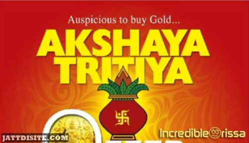 Celebrate Akshaya Tritiya With God