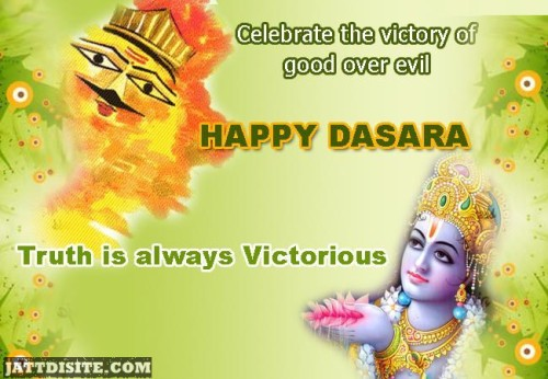 Celebrate the Victory Of Good Over Evil