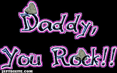 Daddy You Rock1