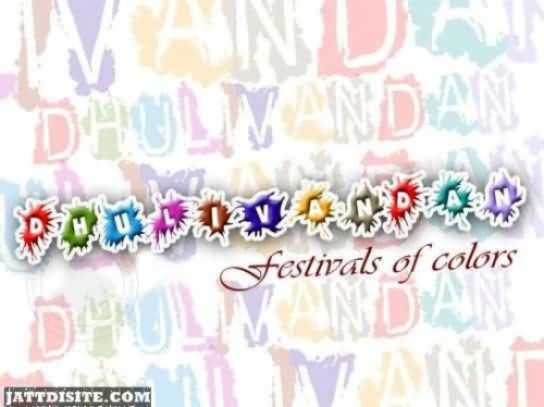 Dhulivandan Festival Of Colors Graphic
