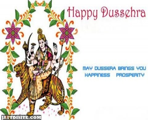 Dussehra Brings You Happiness And Prosperity