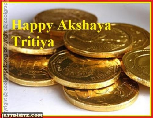 Gold Coin On Akshaya Tritiya