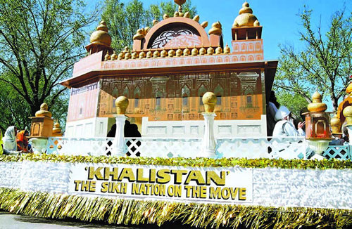 Golden Temple Model - Khalistan