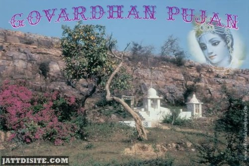 Govardhan Pujan Wishes Graphic