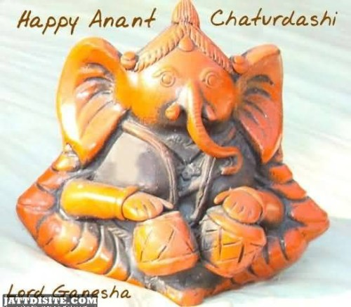 Happy Anant Chaturdashi - Lord Ganesha