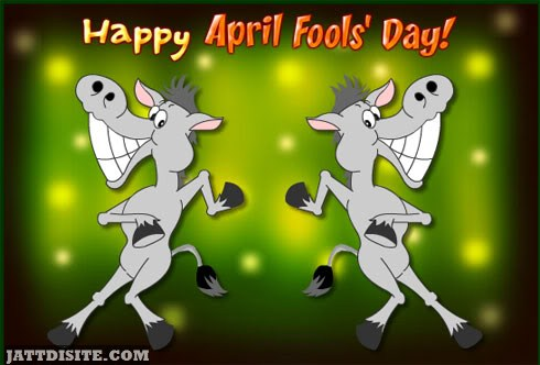 Happy April Fools Day Greeting Card