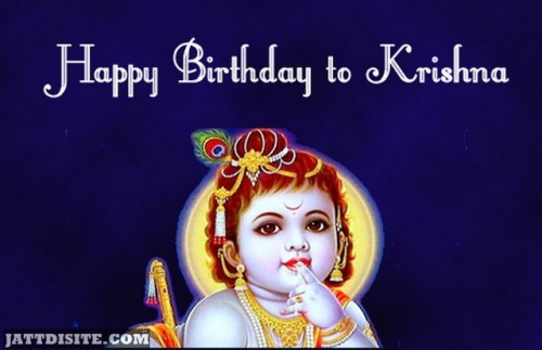 Happy Birthday To Krishna
