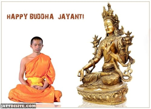 Happy Buddha Jayanti Scrap For Orkut