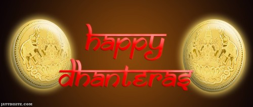 Happy Dhanteras Banner