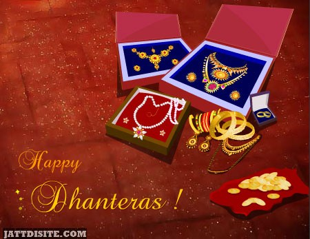 Happy Dhanteras Jwellary Graphic