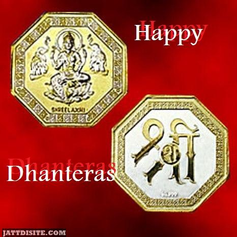 Happy Dhanteras Shri Graphic