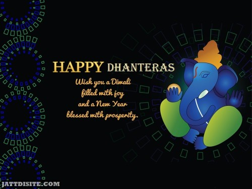 Happy Dhanteras Wish You A Diwali Filled With Joy