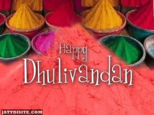 Happy Dhulivandan To You Graphic
