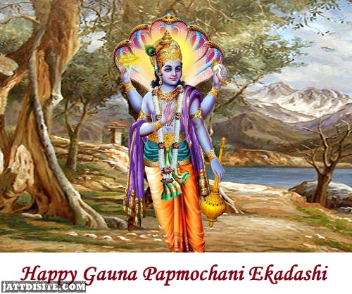 Happy Gauna Papmochani Ekadashi Images