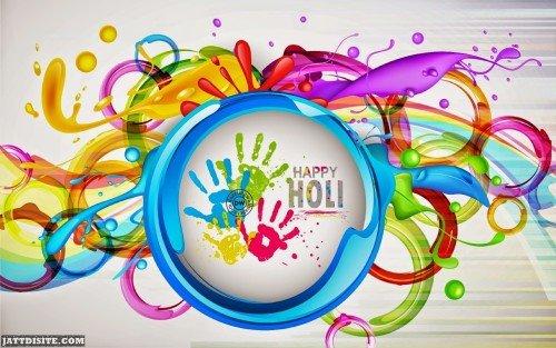 Happy Holi 3d Wallpaper