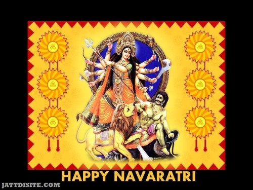 Happy Navratri Graphic 1