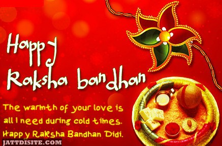 Happy Raksha Bandhan - The Warmest Of Your Love is All I Need During Cold Times