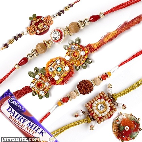 Happy Raksha Bandhan with Sweets
