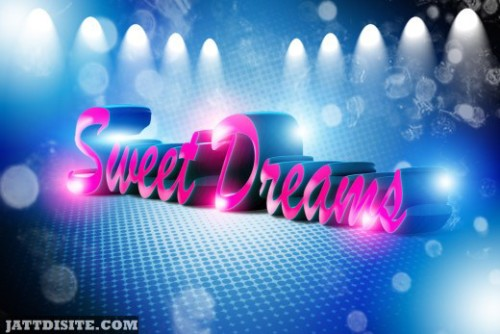 Have  A Sweet Night And Dreams