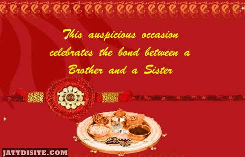His Auspicious Occassion Celebrates The Bond Between A Brother And A Sister