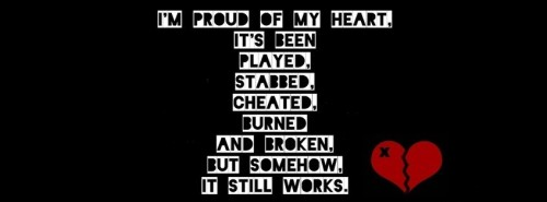 I Am Proud Of My Heart