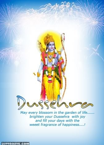 Lord Rama Fill Your Days With The Weeet Fragrance