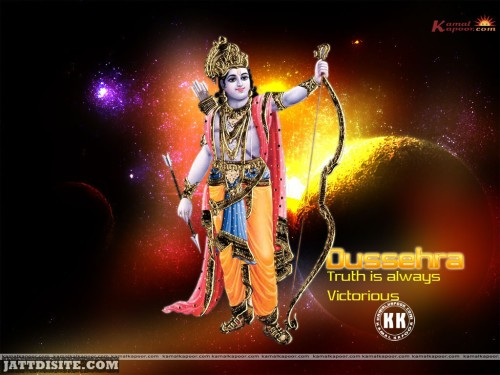 Lord rama Say Truth Is Always Victorious