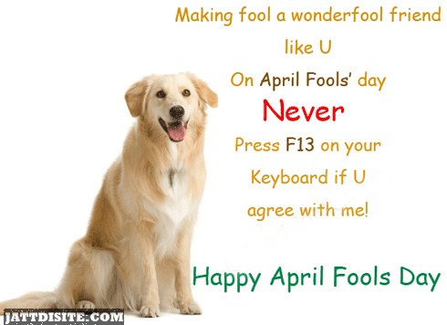 Lovely April Fools Day Animated Greetings