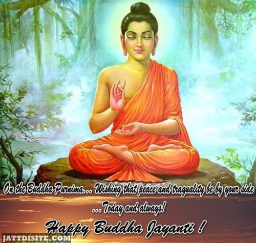 May Buddha Will Give You Blessing On Buddha Jayanti