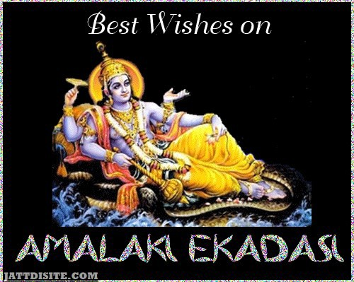 May God Will Give You Happiness On Amalaki Ekadasi