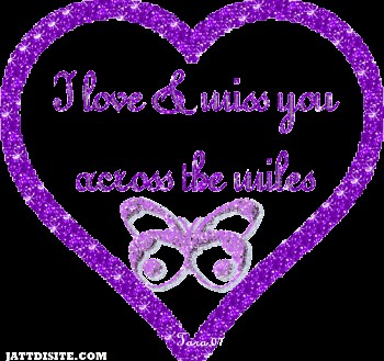 Miss You Across The Mile