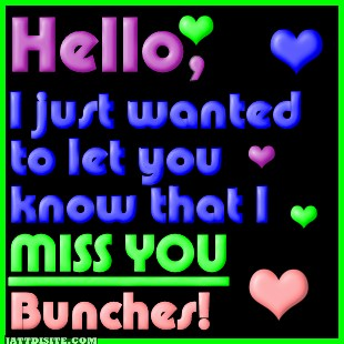 Miss You Bunches