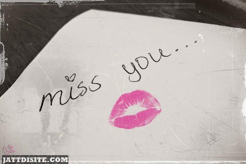 Miss You Photo