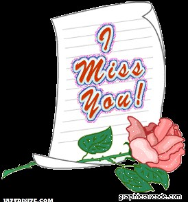 Miss You With Letter