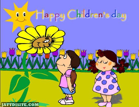 Nice Childrens Day Graphic