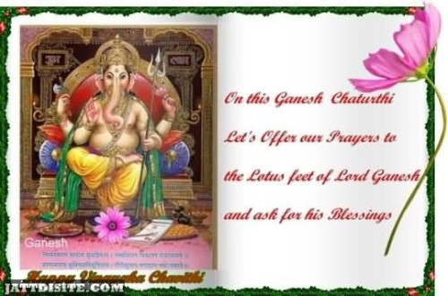 On This Ganesh Chaturthi Graphic